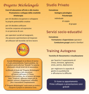 Pieghevole interno Studio Cirino