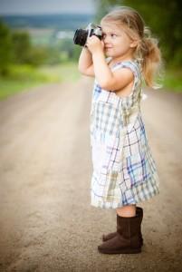 Fotografia di una bambina